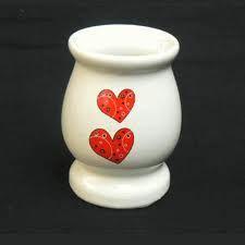 Un mate de cerámica