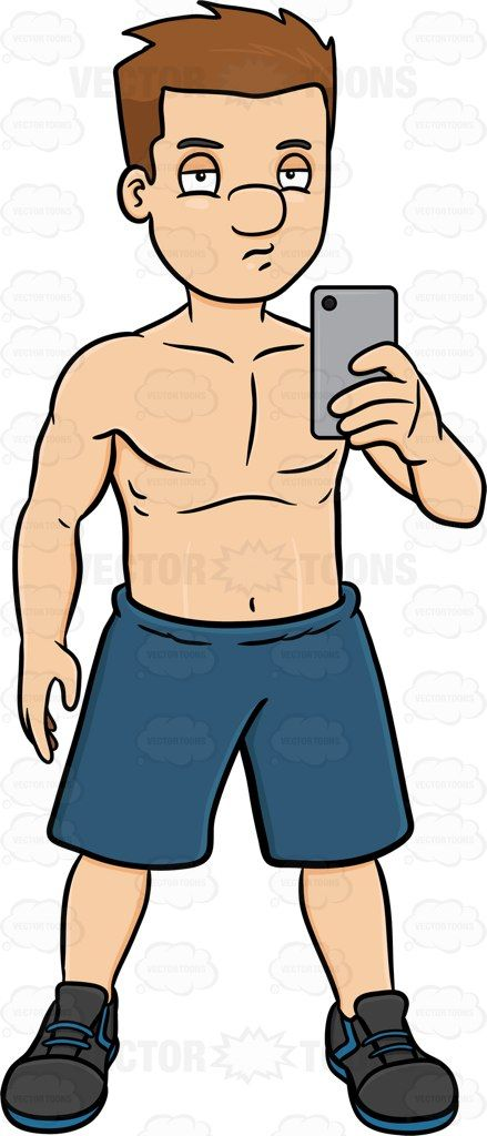 A Guy Taking A Selfie After Working Out | Products ...