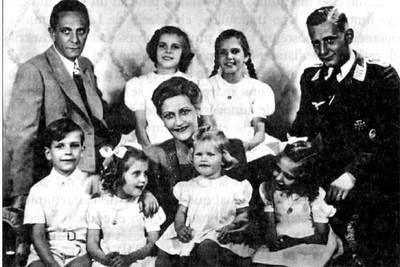 """""""Amo a mi marido, pero mi amor por Hitler es más fuerte. Por él estaría dispuesta a dar mi vida. Cuando tuve claro que Hitler no podía amar a ninguna mujer, sino, como él mismo dice, sólo a Alemania, acepté el matrimonio con el doctor Goebbels. Así podía estar más cerca del Führer"""".MAGDA GOEBBELS mató a sus 6 hijos"""