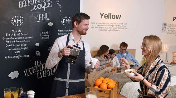 IKEA aposta em formas inovadoras de convidar clientes e potenciais consumidores…