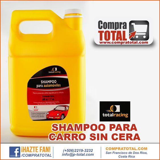 SHAMPOO PARA CARRO SIN CERA #CompraTotal - #TotalRacing