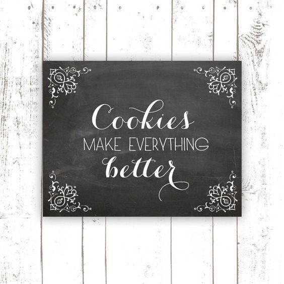 Chalkboard Art Print Typography With
