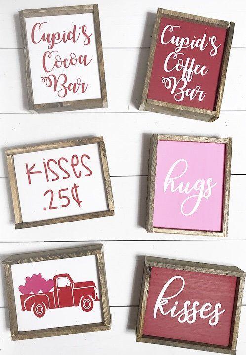 Valentine S Day Home Decor Signs Coffee Bar Signs Etsy Valentines Sign Valentine Decorations Valentines Diy