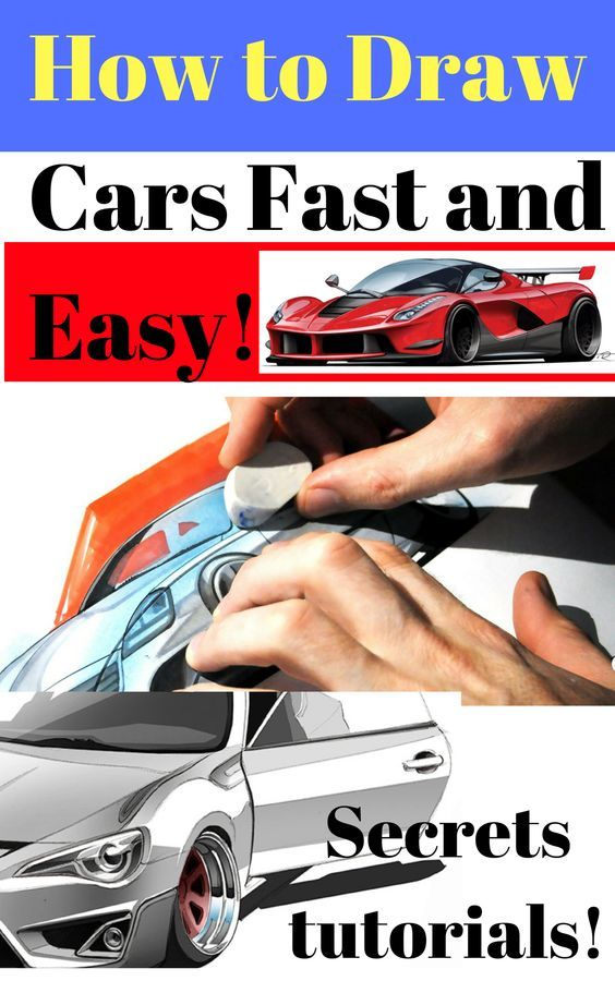 How To Draw Cars Fast And Easy Graphic Design Posters Graphic