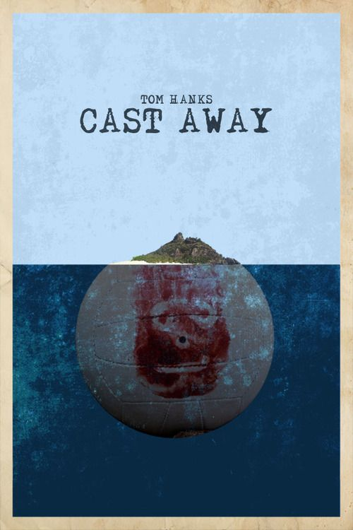 Cast Away by edgarascensao #movie #poster