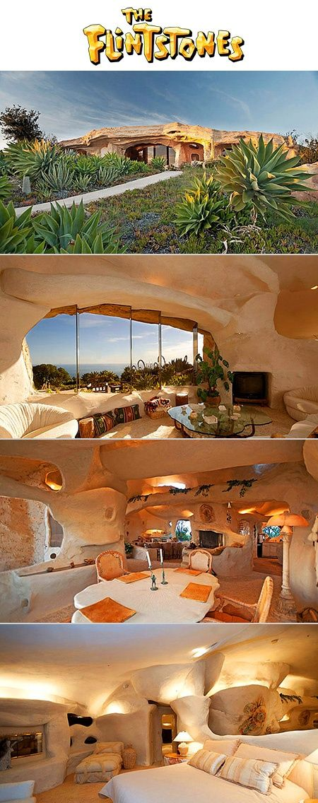 Flintstones inspired home