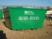 At my work, we have decided to have a 'recycle week'. I think it would be an awesome idea to get one of these skip bins to put in our parking lot, to bee able to see just how much our business can recycle in a week. I think the result would surprise a lot of people!
