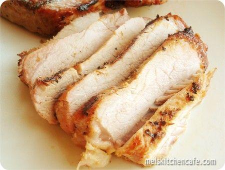 tender grilled pork chops recipe