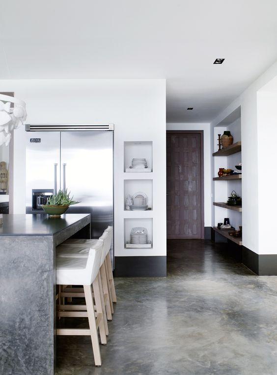 beton in interior