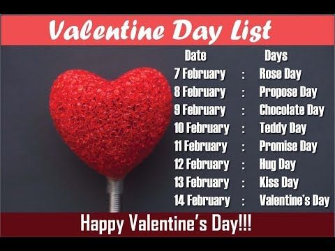 2020 Valentine Week Valentine Day Week List 2020 All Days Images Hd Wallpapers Message In 2021 Valentine Day Week List Valentine Day Week Day Before Valentines Day