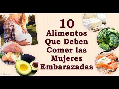 alimentos q debo comer durante el embarazo