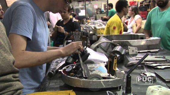 Ao invés de fazer greve, alunos da PUC-Rio criam robô e ganham competição nos EUA