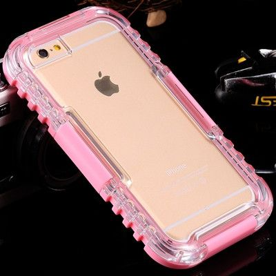 IP-68 Waterproof Heavy Duty Hybrid Swimming Dive Case For Apple iPhone 6 4.7 inch Water/Dirt/Shock Proof Phone Bag For iPhone6
