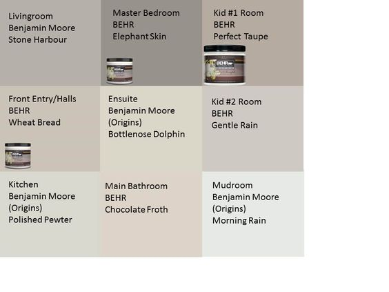 Pewter dolphins and paint colors on pinterest for Behr whites and neutrals