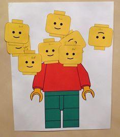 LEGO - jeu tête bonhomme légo                                                                                                                                                     Plus