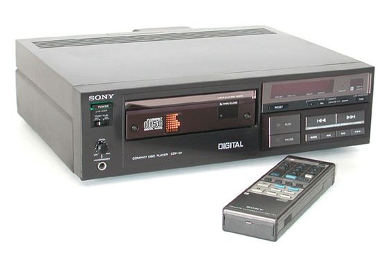 """the second """"first"""" cd player of the world"""
