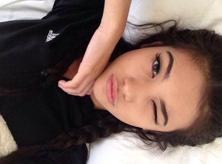 adidas, alternative, bedroom, black, black & white, black and white, brown hair, brunette, can, clothes, cute girl, eyebrows, eyes, fashion, female, girl, girls, hair, indie, instagram, makeup, nike, photography, pop, pose, selfie, silly face, tumblr