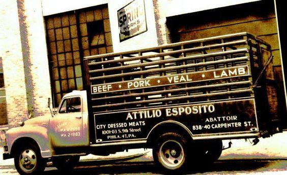 Esposito's truck