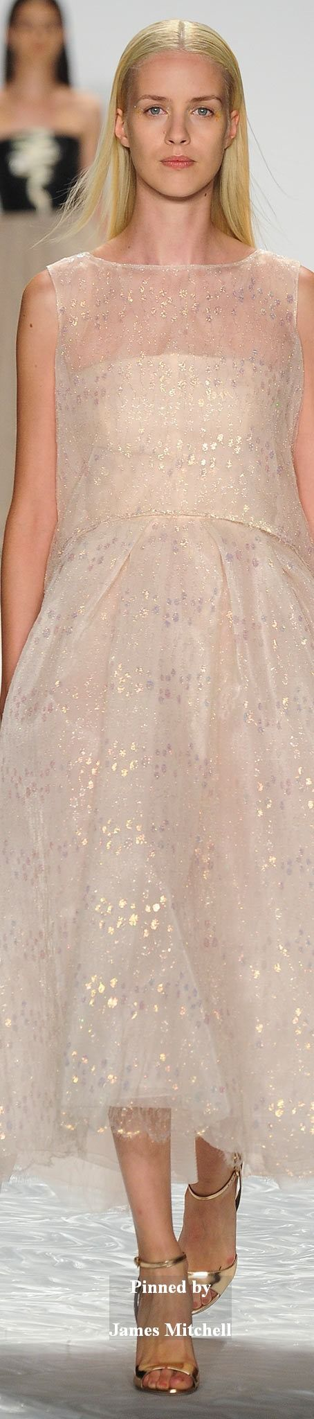 Monique Lhuillier Collection Spring 2015 Ready-to-Wear