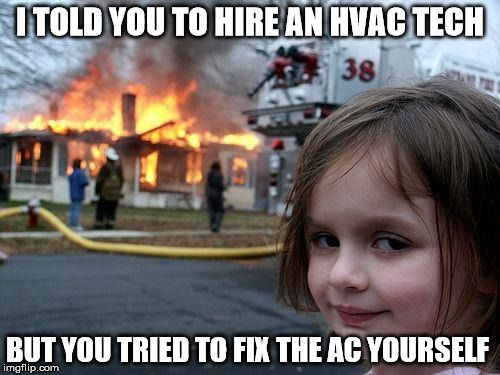 Call Us At Service All Stars For Your Air Conditioning And Heating Needs 888 299 2387 Funny Sister Memes Funny Pictures Marching Band Memes