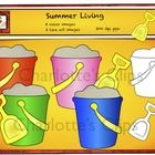 These graphics would be great for behavior management such as bucket fillers. Themes such as summer, end of the year, beach, sand, capacity, and vacations. Pails are blank so they can be used for word games, math games, name tags, bucket list etc.