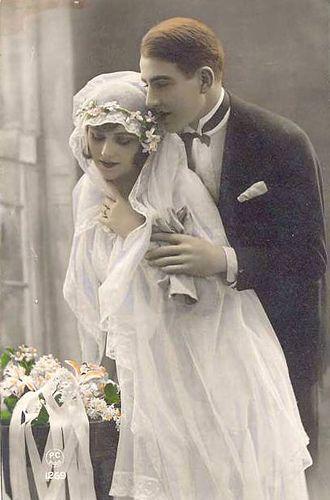1910's wedding: