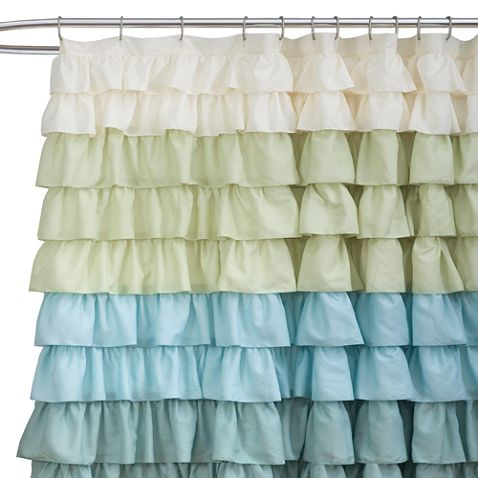 This is the shower curtain I'm going to get. Need to plan the rest of the bathroom decor around this...