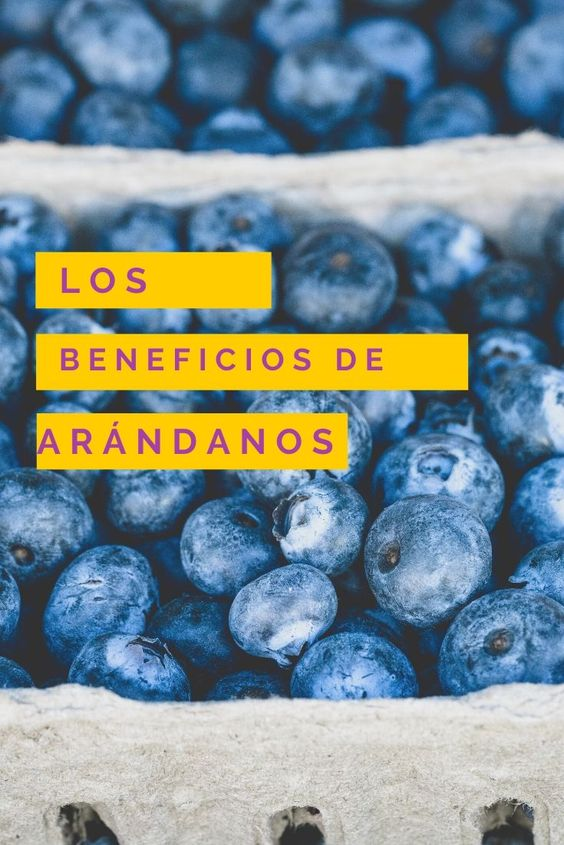 beneficios de comer arandanos