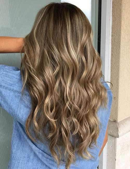 45 Stunning Hair Color Trends For Girls Brown Blonde Hair Dark