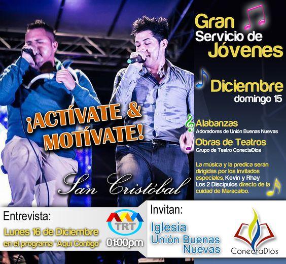 Actividad Juvenil / San Cristóbal / Los 2 Discípulos.