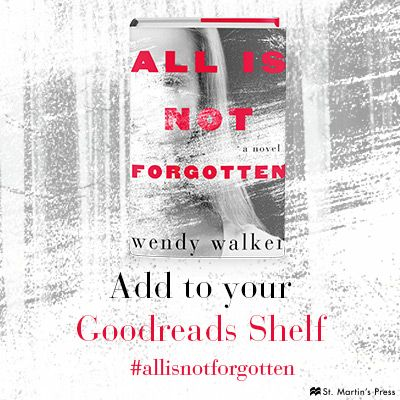 Don't miss ALL IS NOT FORGOTTEN--add it to your TBR pile today!