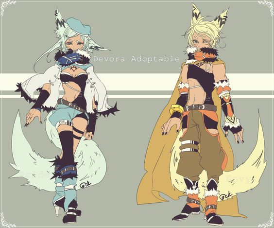 Devora Mix adopt CLOSED by Kaiet.deviantart.com on @DeviantArt