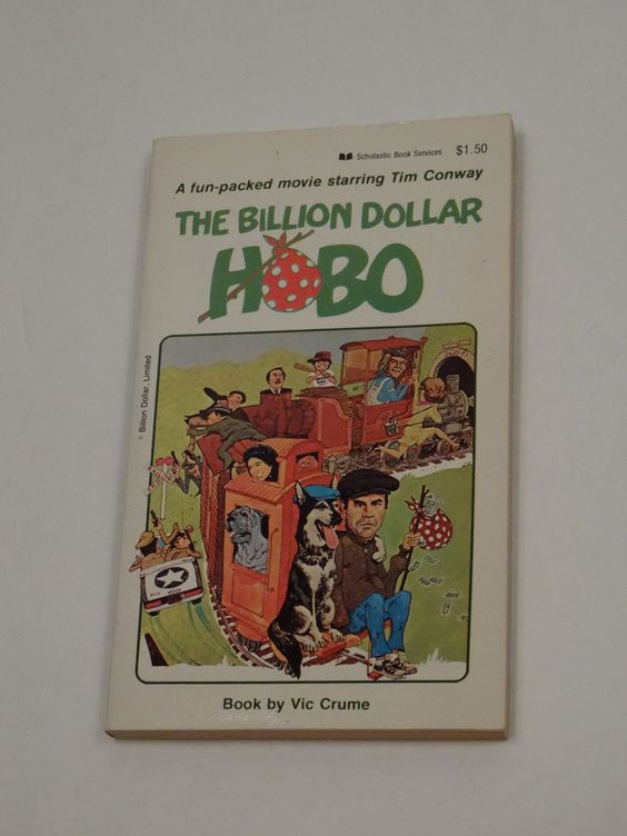 The Billion Dollar Hobo by Vic Crume (1978, Paperback) Book