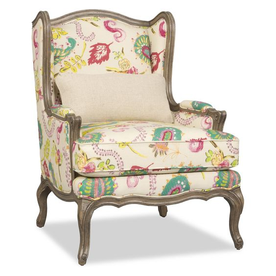 Have to have it. Sam Moore Kelsea Wing Chair - Farina - $1486 @hayneedle