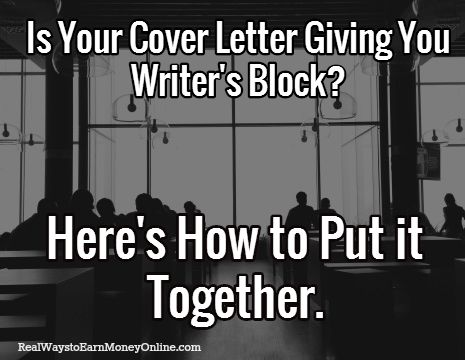 Work from Home Cover Letter Tips