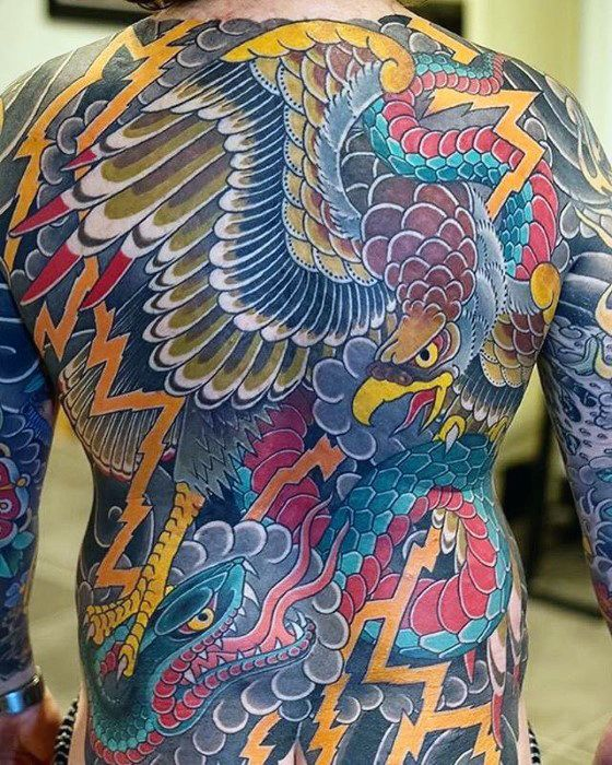 50 Japanese Back Tattoo Designs For Men Traditional Ink Ideas Japanese Back Tattoo Japanese Tattoo Back Tattoo