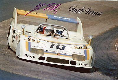 Ernst Kraus & Jürgen Barth Porsche 908/3 1000 KM Nürburgring 1975 Top Foto 20x30 in Sammeln & Seltenes | eBay