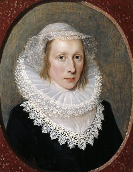Portrait of a Lady, c.1620 by Cornelius Janssen van Ceulen: Corn Janssen: