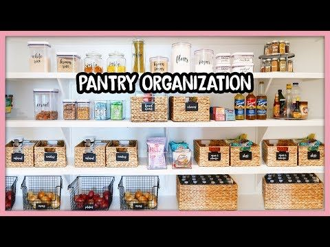 Pantry Goals Shop Organize With Me Youtube Shop