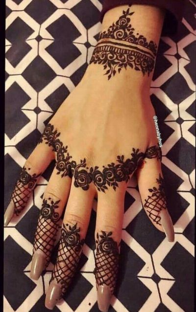 cute mehndi arabic mehndi designs for back side of hand