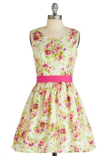 Reverie of Roses Dress