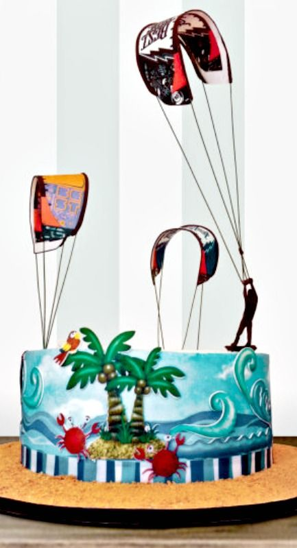 Cute cakes, Cakes and Kites on Pinterest