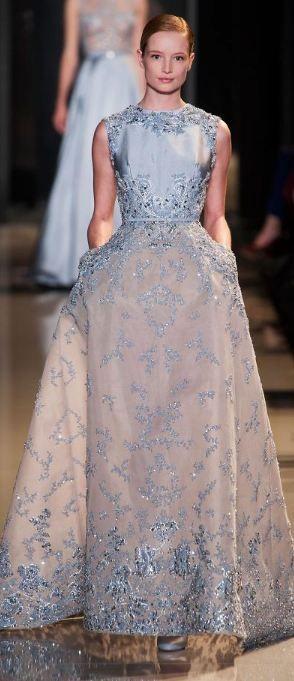 Elie Saab - Haute Couture Spring 2013 #josephine#vogel