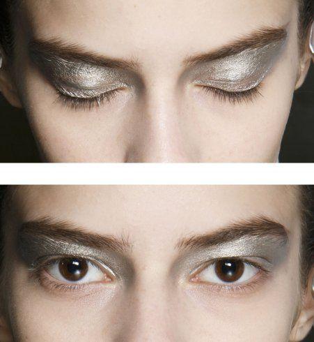 Le maquillage des yeux John Rocha printemps été 2014