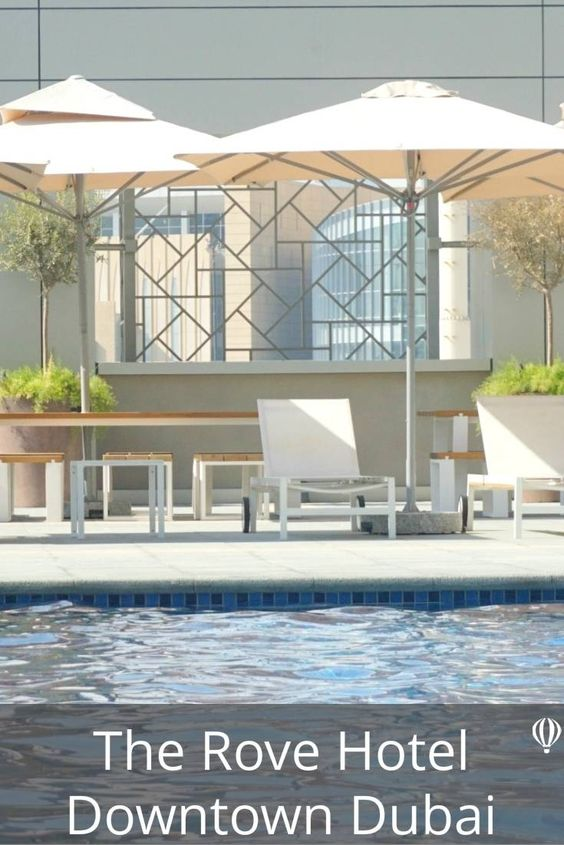 5 Reasons you will love the Rove Downtown Dubai, A Fab affordable hotel