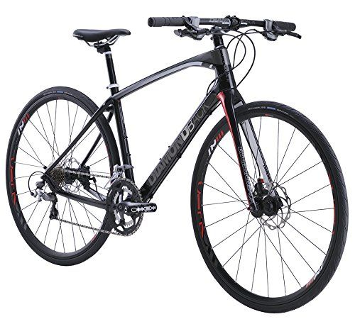 Diamondback Bicycles 2015 Interval Complete Performance Hybrid Bike Hybrid Bikes Product Features Crank Arm Length: [small, medium] 170 mm, [large, x-large] 175 mm Extras: bottle mounts, chainstay protector Wheelset: DB Equation Aero Handlebar Width: 660 mm Tire Size: 700 c x 30 mm Hybrid Bikes Product Description You've spent the last several years dialing in your carbon speed machine: aerodynamic shaping, integrated seatpost, […] http://www.bicyclessale.com/dia..