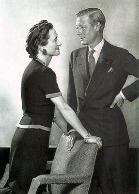 """Edward VIII and Wallis Simpson. This was real true love. UK would have been so different if he had not given in to the """"establishment""""."""