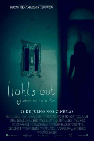 Filme / LIGHTS OUT - TERROR NA ESCURIDÃO
