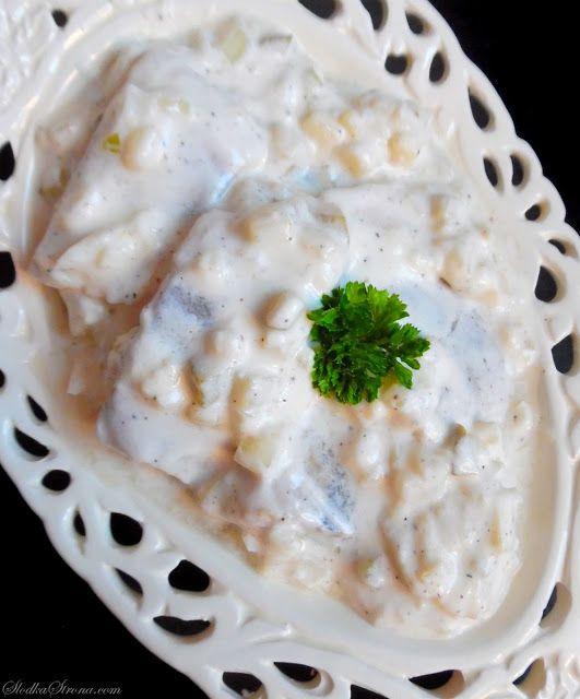 Sledzie W Smietanie A La Lisner Przepis Slodka Strona Food Recipes Polish Recipes