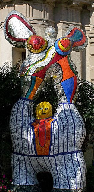 Le Poete et Sa Muse by Niki de St. Phalle